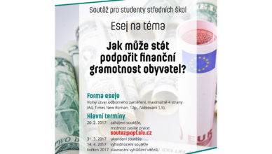 Finanční gramotnost 2017