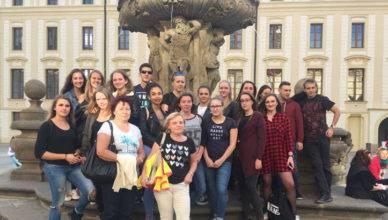 Studenti 4. B v Praze – 2017