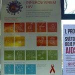 V rámci Světového dne boje proti AIDS jezdila 1. 12. Ostravou informační tramvaj