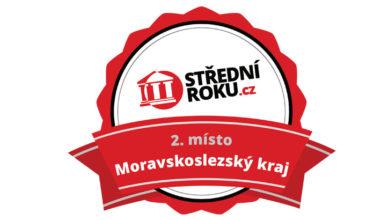 Druhé místo v MSK v anketě Střední roku 2018/2019