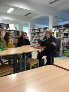 Lekce o Jaroslavu Haškovi v knihovně
