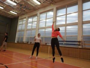 Školní badmintonový turnaj 6. ročník