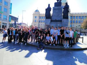 Čtvrťáci v Praze
