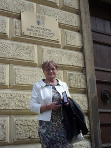 Pedagog naší školy byl oceněn Medailí MŠMT