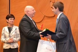 Karel Bažan patří k nejúspěšnějším žákům  SŠ v MSK (14. 10. 2011)